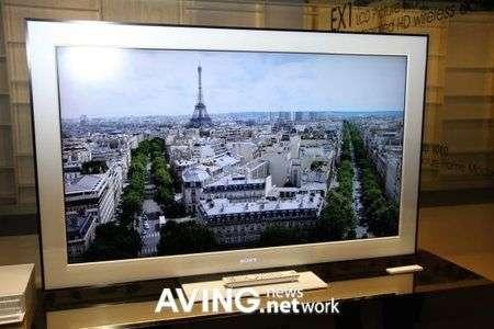 Sony Bravia EX1 HDTV con Wireless