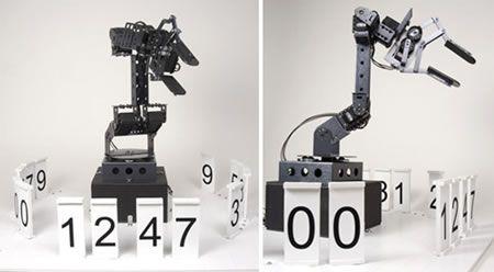 stonehenge robot clock