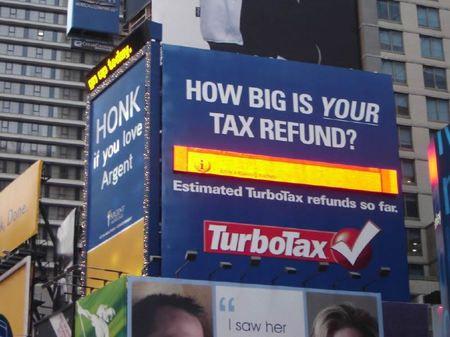 times square turbotax thumb