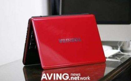 Toshiba Satellite M300 Romantic Red