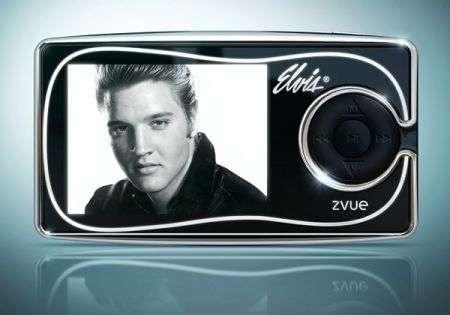Zvue, un PMP dedicato a Elvis