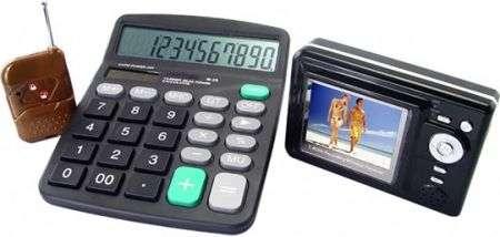 Calculator Spy Camera, il subdolo