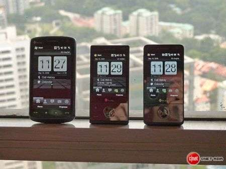 HTC Touch foto di famiglia: Diamond, Pro e HD