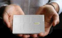 Memoria esterna Lenovo che mostra la capacità