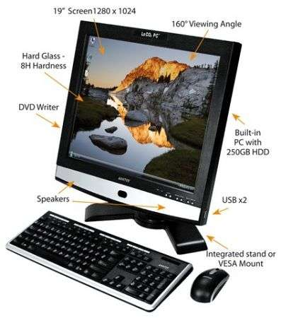 LoCO2: all-in-one che consuma meno di un notebook