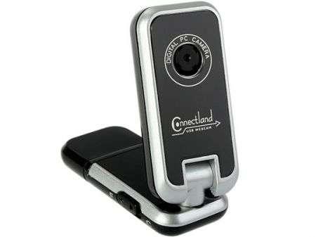 USB Webcam con memory card reader