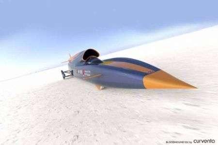 L'auto più veloce del mondo da 1600 km/h, Bloodhound