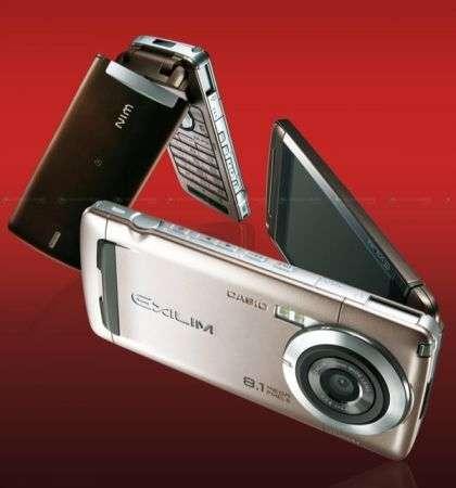 Casio W63CA Exilim da 8 megapixel
