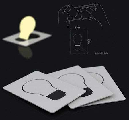 La lampadina ultrapiatta di Yoon e Lee