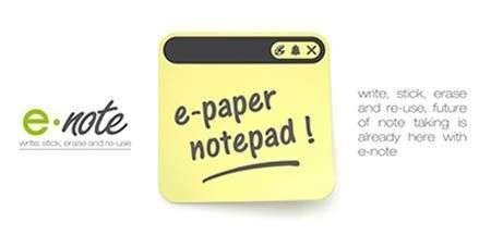 E-note, addio post-it!
