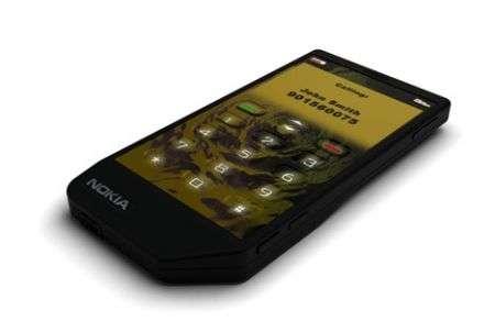 Concept Nokia Touchscreen con Feedback liquido!