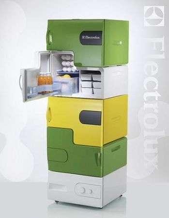 Flatshare Fridge, il nuovo frigorifero della Electrolux