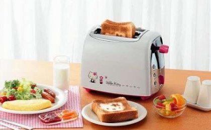 Il Tostapane di Hello Kitty