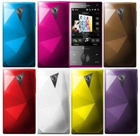 Nuovi colori per HTC Diamond e Lg Viewty