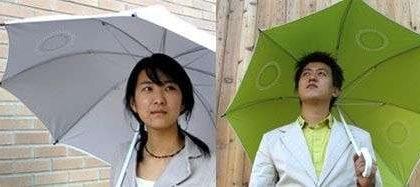 Music in the Rain, un ombrello mp3