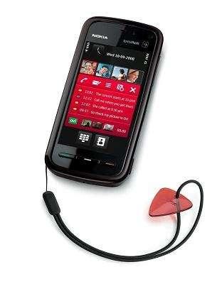 Nokia 5800 XpressMusic: il plettro per il gioco Guitar Rock Tour