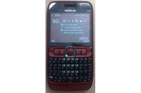 Nokia E63, molto simile a E71