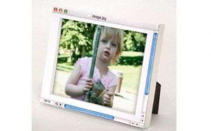 Il portafoto analogico finto digitale
