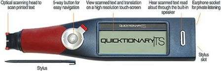 La penna scanner traduttrice simultanea Quicktionary