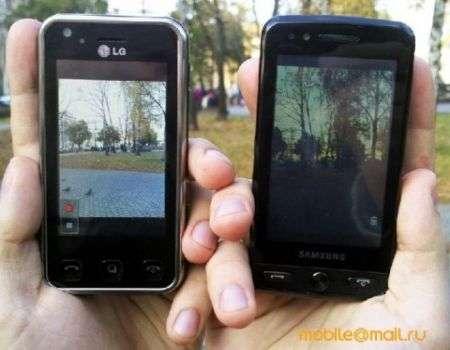 Samsung Pixon vs LG KC910 Renoir