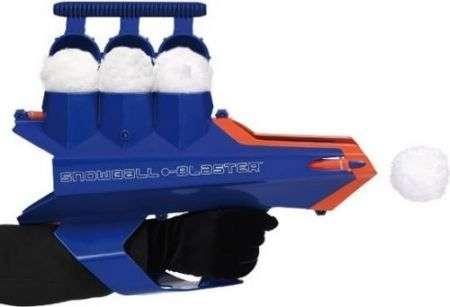 Il Cannone che crea e spara palle di neve!