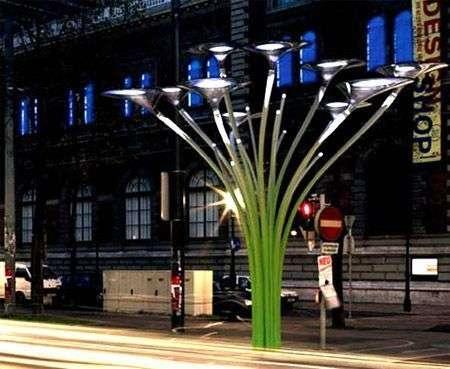 Solar Trees: i lampioni di Ross Lovegrove