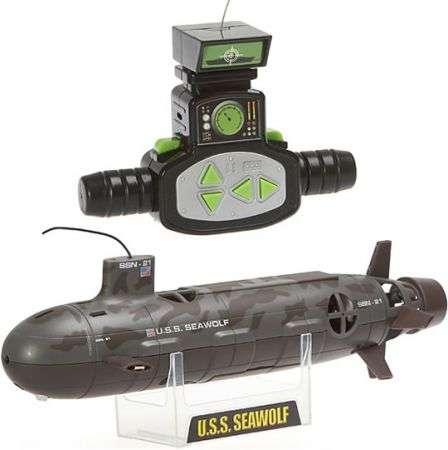 Sottomarino radiocomandato USS Seawolf SSN-21