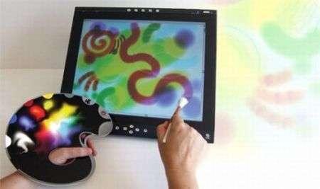 Tela e tavolozza virtuali con Virtuo Digital Palette
