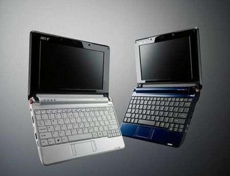 Acer Aspire One da 10 pollici nel 2009