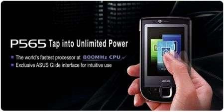 Smartphone ASUS P565: la scheggia!