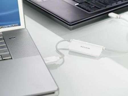 Belkin Switch to Mac per trasferimenti file lampo con PC