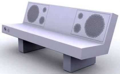 Boom Bench: panchina musicale bluetooth