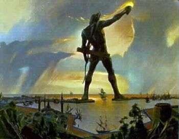 Il Colosso di Rodi sarà ricostruito con le luci!
