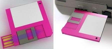 Floppy USB: la penna nostalgica
