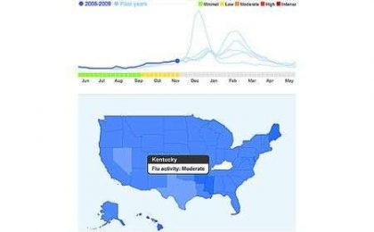 Google: trackare l'influenza dalle ricerche sul motore