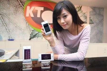 Cellulare iRiver simile a iPhone in Alluminio