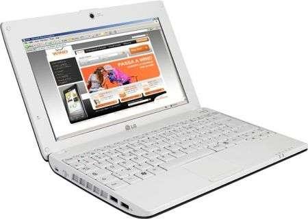 Netbook LG X110 in esclusiva con Wind