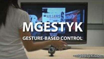 Mgestyk: comandi gestuali, addio mouse e tastiera