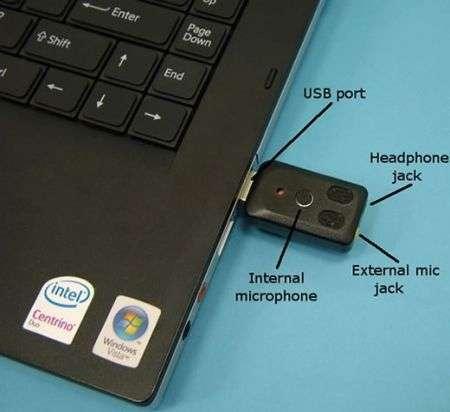 Il più piccolo microfono USB