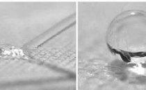 Nanotecnologie: materiali asciutti anche se immersi