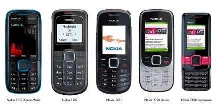 I nuovi Nokia entrylevel