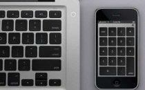 iPhone come tastierino numerico per Macbook
