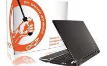 OCZ DIY Gaming Notebook con Intel Centrino 2