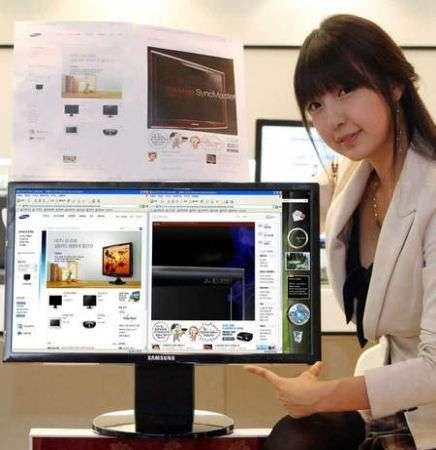 Il primo monitor LCD Samsung QWXGA
