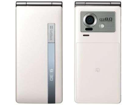 SoftBank 930SH con 8 megapixel di fotocamera