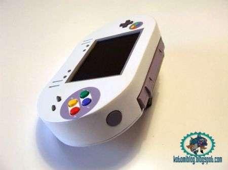 Super Nintendo (SNES) Portatile