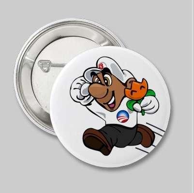 Super Mario tifa Obama