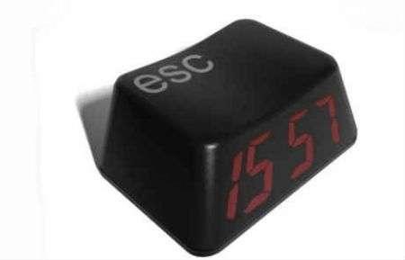 Esc Clock, la sveglia-tasto direttamente dal pc