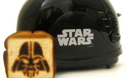 Star Wars: tostapane di Darth Vader