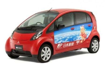 Auto elettriche per le Poste Giapponesi